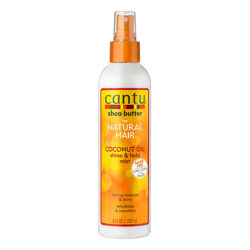 cantu coconut shine and hold mist
