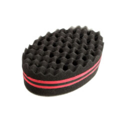 hair curl sponge brush